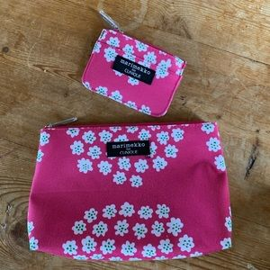 New Marimekko for Clinique Pouch Card Holder Set
